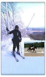 ski to ride